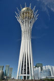 Bayterek Tower in Astana Stock Images