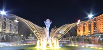 Bayterek Tower in Astana. symbol of Kazakhstan Royalty Free Stock Photos