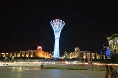 Bayterek Tower in Astana. symbol of Kazakhstan Stock Images