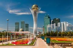 Bayterek Tower, Nurzhol Bulvar, Astana Royalty Free Stock Photos