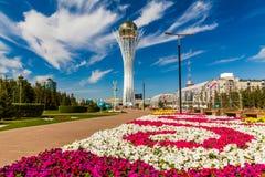Bayterek Tower, Nurzhol Bulvar, Astana Stock Photos