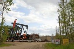 Baytex oil plant, ALberta, Canada Stock Photos