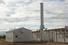 Baytex oil plant, Alberta, Canada Stock Photography