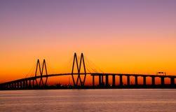 baytown桥梁 图库摄影