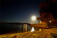 Bayview Pittwater Sydney Australia Photos stock