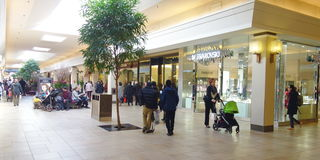 Bayview Village Mall Royalty Free Stock Photography