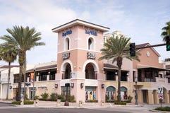 BayWalk购物中心在圣彼德堡,佛罗里达 库存图片
