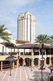 BayWalk购物中心在圣彼德堡,佛罗里达 库存照片
