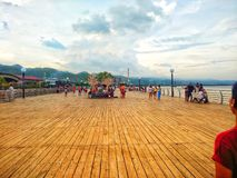 BAYWALK, CIDADE DO NAGA FILIPINAS Fotografia de Stock Royalty Free