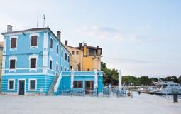 Baywalk. Resort Fazana, Croatia Royalty Free Stock Photography