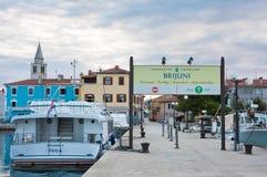 Baywalk. Resort Fazana, Croatia Stock Images