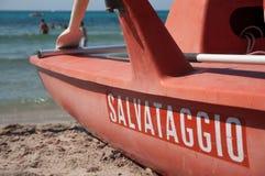 baywatch βάρκα Στοκ Φωτογραφία