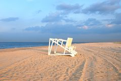 Baywatch chair Royalty Free Stock Images