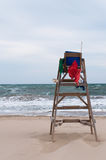 Baywatch chair Stock Images