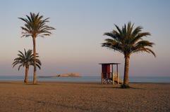Baywatch en el mar Mediterráneo Fotografía de archivo libre de regalías