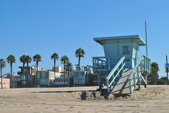 Baywatch hut Venice Beach Stock Image