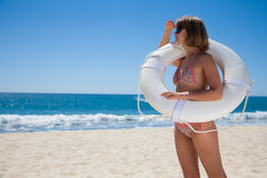 Baywatch lifeguard Stock Photos