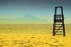 baywatch plaży wierza zdjęcia royalty free