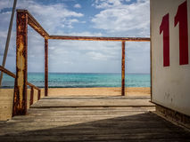 Baywatch station Royalty Free Stock Photos