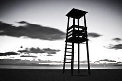 Baywatch tower Royalty Free Stock Image