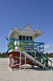 Baywatch tower Miami Beach, Florida USA Stock Image
