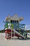 Baywatch-Turm Miami Beach, Florida USA Stockbild