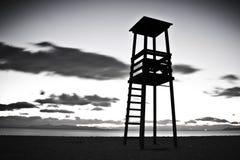 Baywatchtoren Royalty-vrije Stock Afbeelding