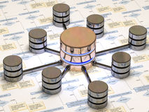baza danych ilustracja wektor