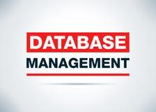 Baza danych zarządzania tła projekta Abstrakcjonistyczna Płaska ilustracja ilustracji