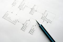baza danych zarządzanie Obraz Royalty Free