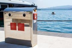 Baza dla źródła zasilania dla jachtów i łodzi obraz stock