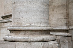 Baza kolumna w Rzym Zdjęcie Royalty Free