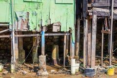 Baza stary dom w ruinie zdjęcie royalty free