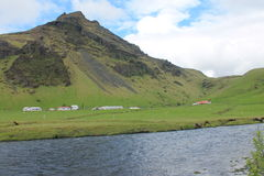 Baza wioska Iceland Zdjęcie Royalty Free
