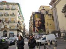 Bazaar θέση αγοράς της Νάπολης Napoli arcade Στοκ Εικόνα