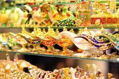 Bazaar στη Ιστανμπούλ Στοκ εικόνα με δικαίωμα ελεύθερης χρήσης