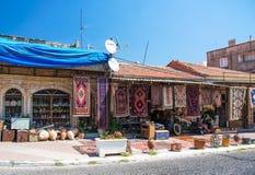 Bazaar in Bergama Stock Photo