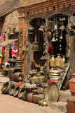 Bazaar in Bhaktapur Stock Photography
