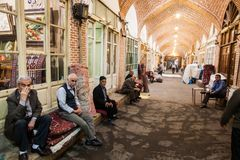 Bazaar de Tabriz, Iran Royalty Free Stock Photo