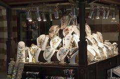 Bazaar at Dubai mall Stock Image