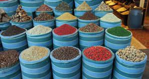 Bazaar. In hurghada with fresh spices Stock Photo