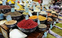 Bazaar in Iran. Commodities sold in Bazaar in Iran stock photos