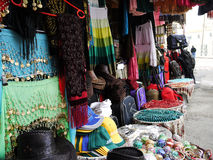 Bazaar in Jerusalem Old City Royalty Free Stock Photos