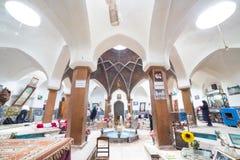 Bazaar of Kashan, in Iran Royalty Free Stock Image