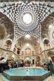 Bazaar of Kashan, in Iran Stock Photos