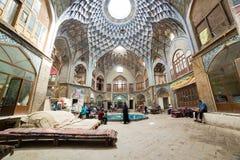 Bazaar of Kashan, in Iran Stock Image