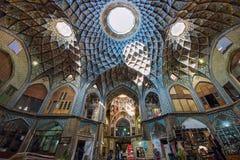 Bazaar of Kashan, in Iran Stock Photo