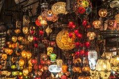 Bazaar Lanterns Stock Photos