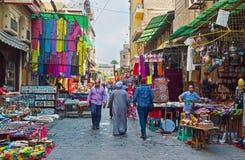 Bazaar like the tourist attraction Stock Photos