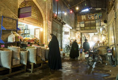 Bazaar market in isfahan iran Royalty Free Stock Images